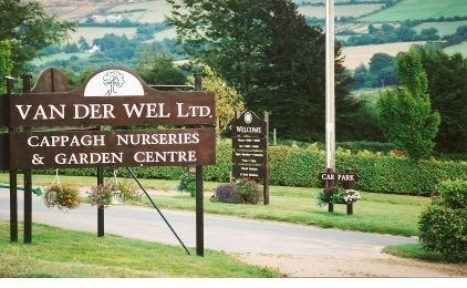 VAN DER WEL LTD NURSERY AUGHRIM CO.WICKLOW